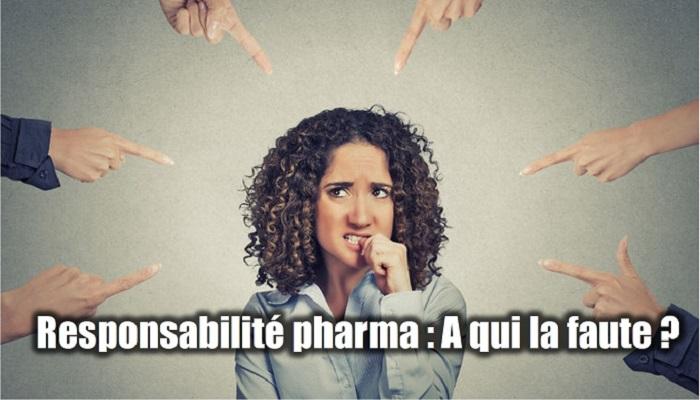 Responsabilité pharmaceutique
